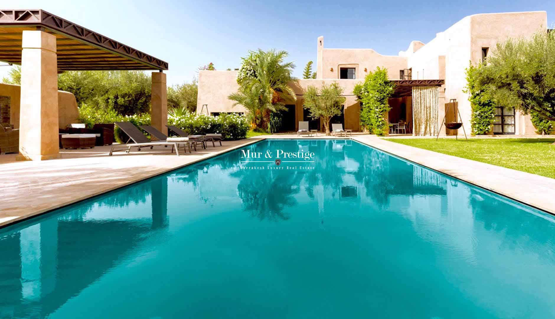 Magnifique villa en vente � Marrakech