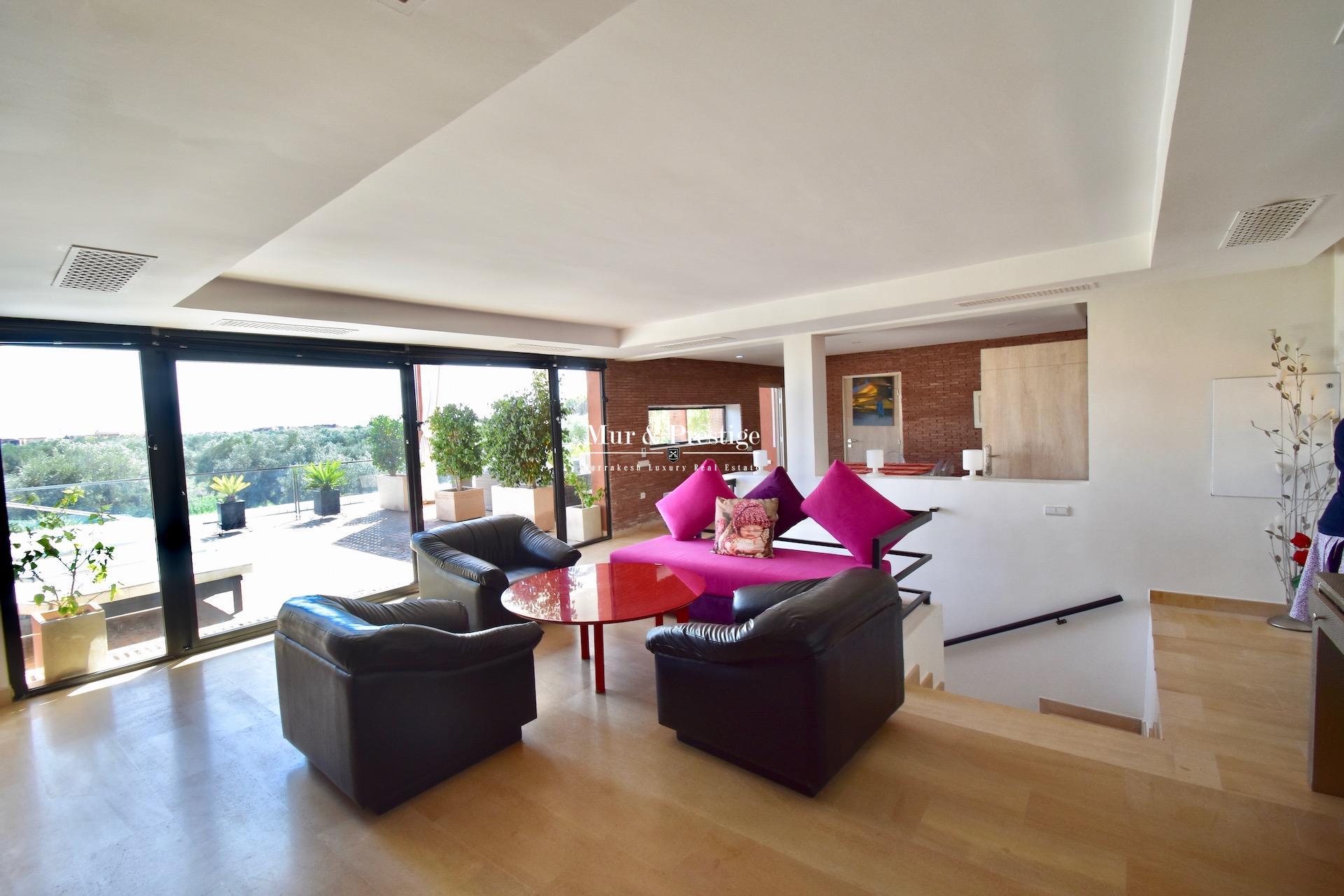 Maison moderne à louer au Golf Amelkis à Marrakech - copie