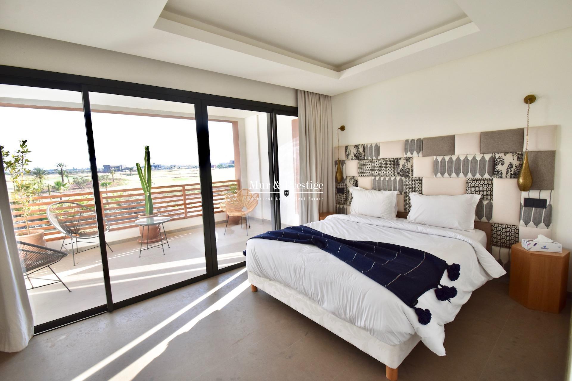 Agence immobilière Marrakech – Villa à louer en front de golf à Amelkis  - copie