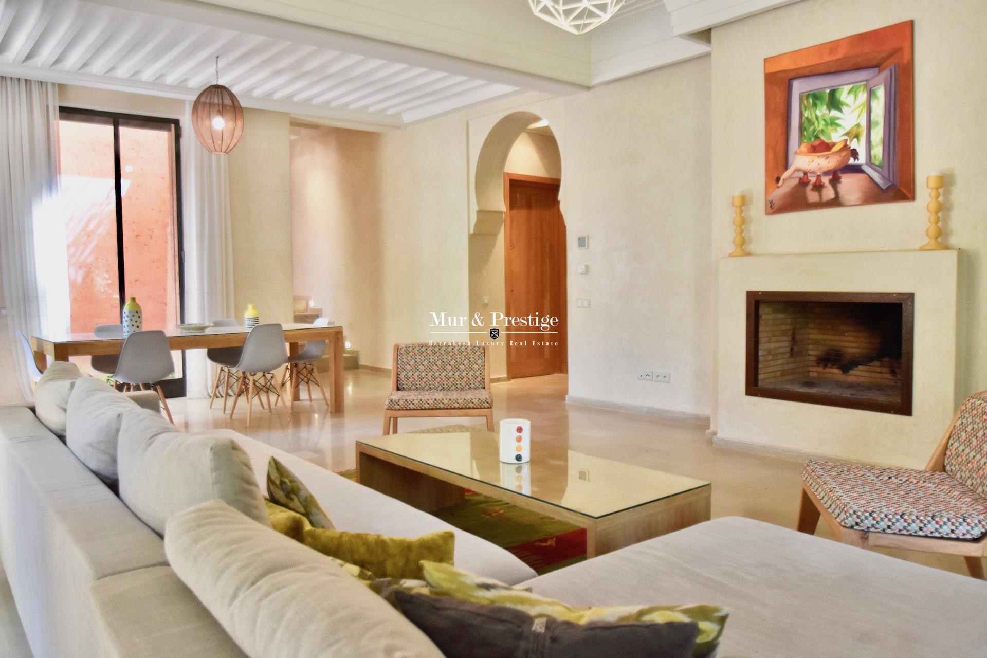 Maison à la location à Marrakech à la Palmeraie  - copie