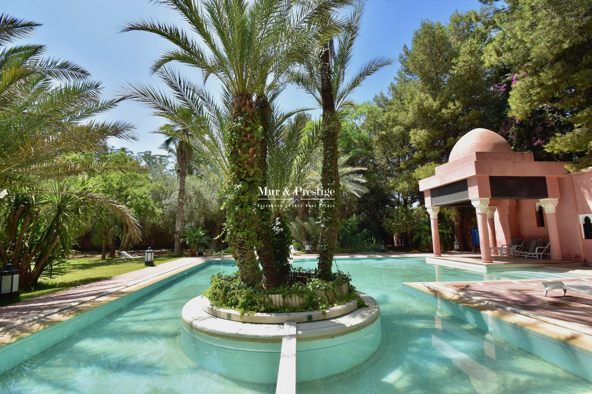 Maison à louer à la palmeraie Marrakech  - copie