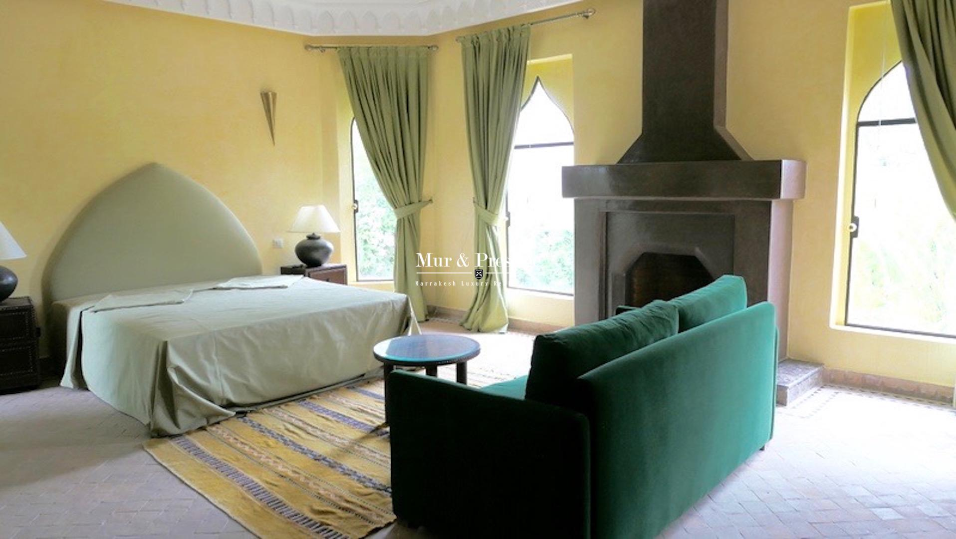 Maison sur le Golf Amelkis à la location à Marrakech - copie