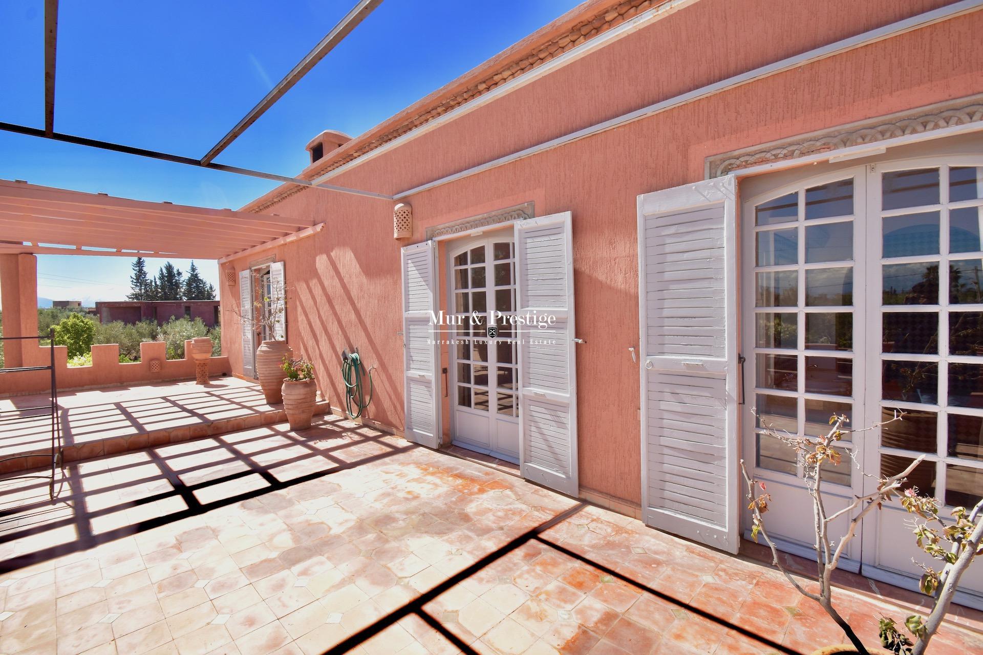 Maison à louer à 5 minutes du Golf Fairmont Royal Palm Marrakech - copie