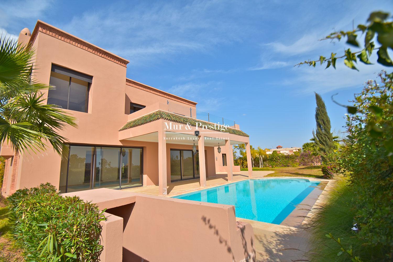 Villa de luxe à louer sur Golf à Marrakech