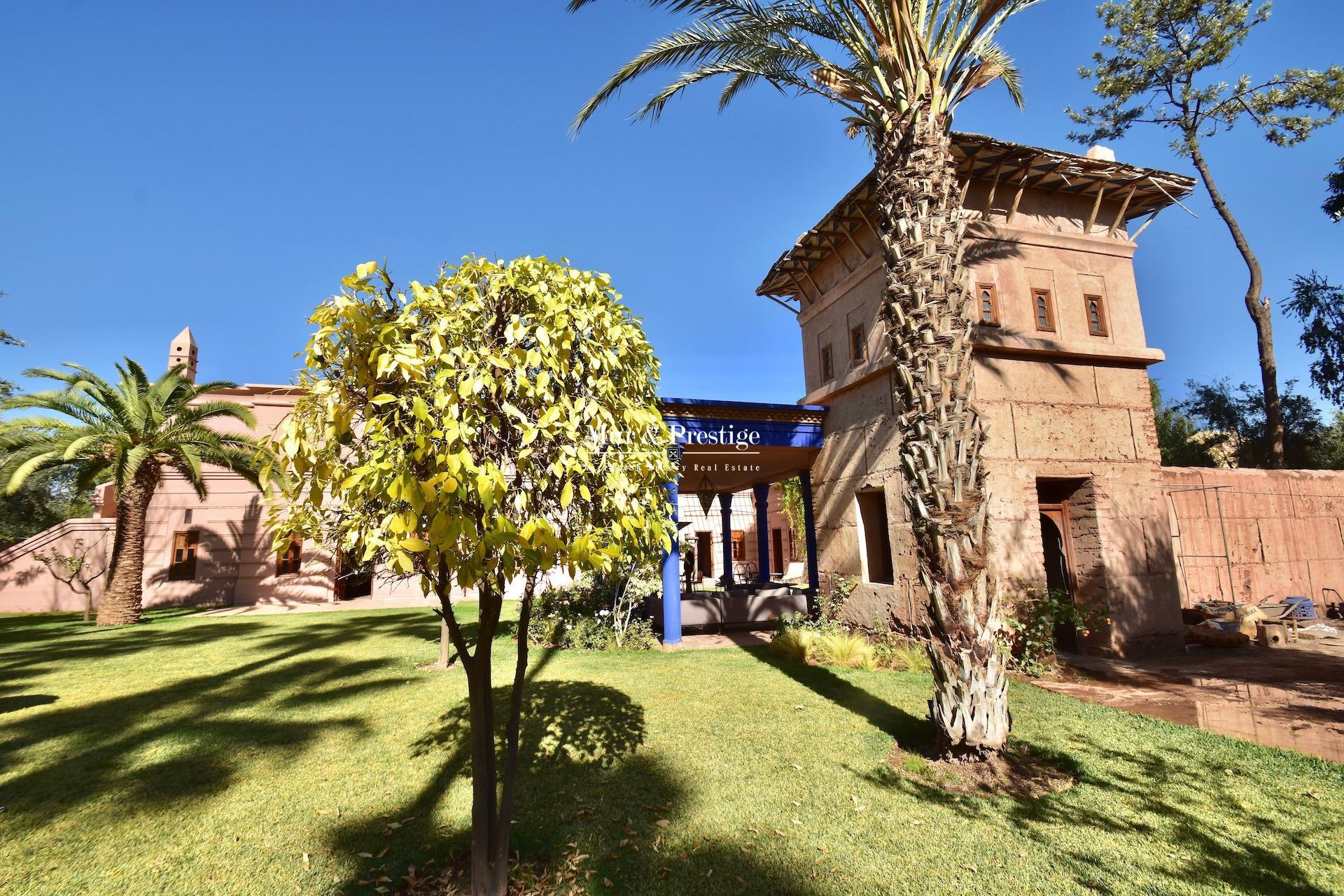 Maison de maître à louer au golf Amelkis Marrakech - copie