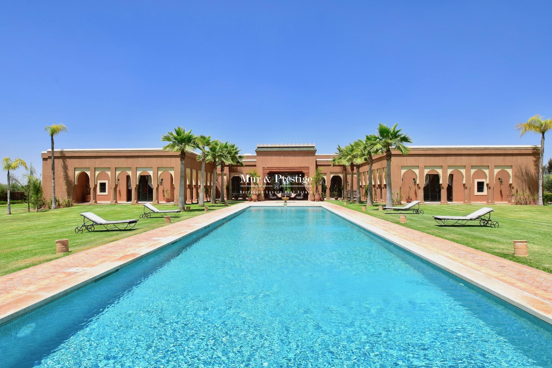 Maison de caractère à vendre à Marrakech