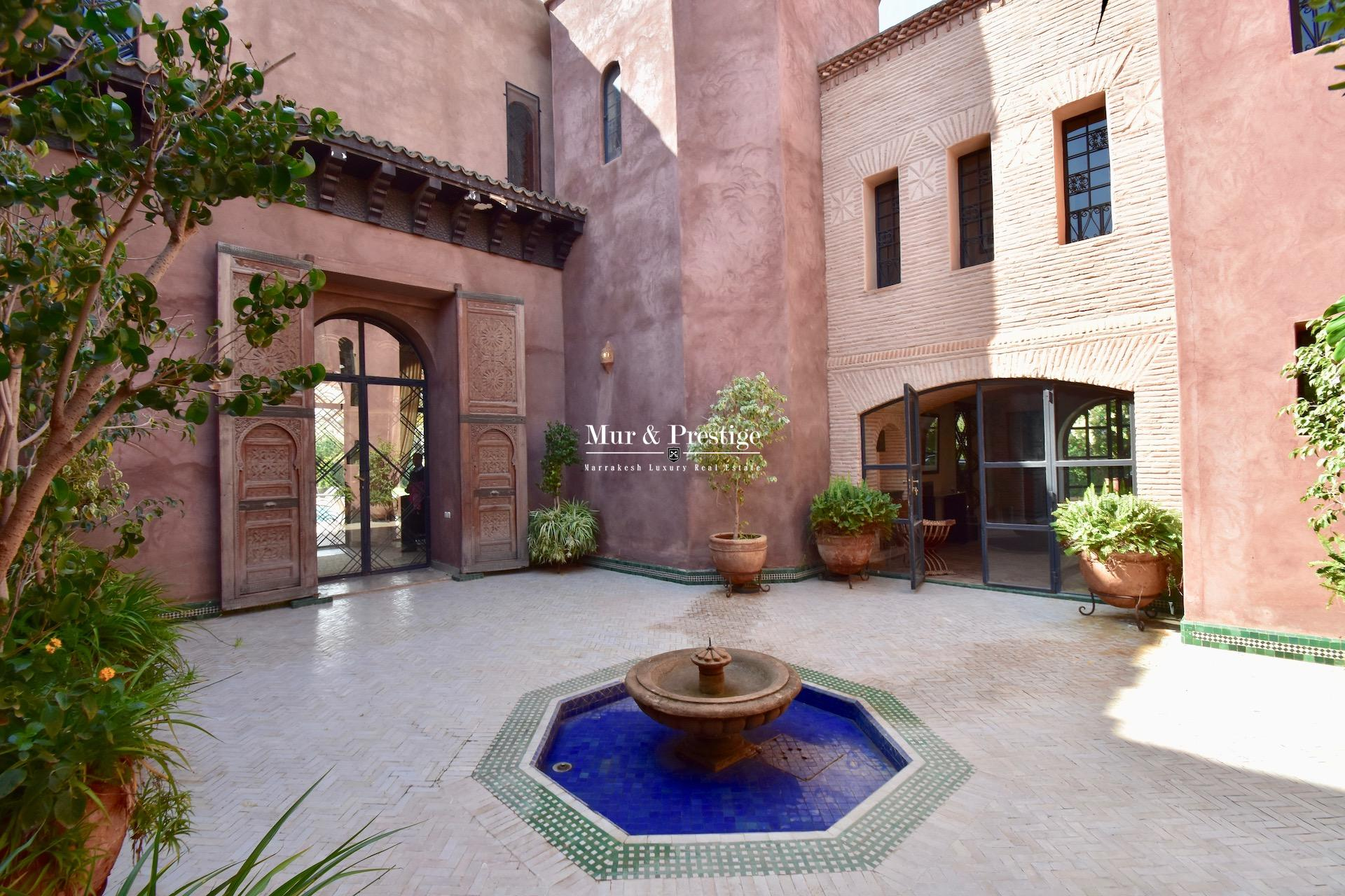 Demeure de prestige en vente à Marrakech
