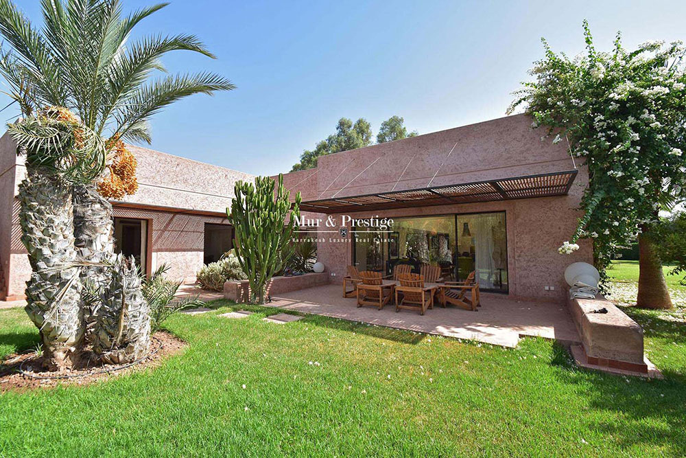 Charmante villa de plain pied a vendre a Marrakech