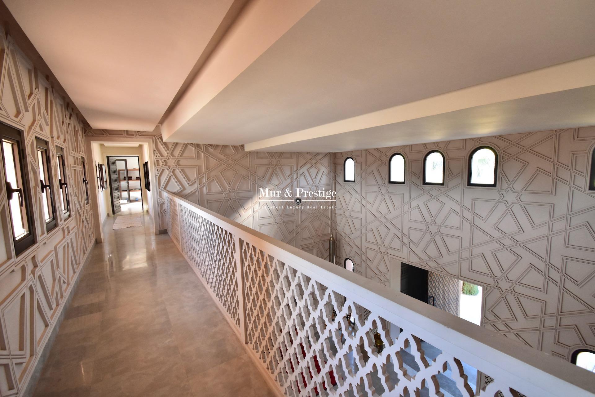 Agence immobilière Marrakech – Maison en vente à la Palmeraie