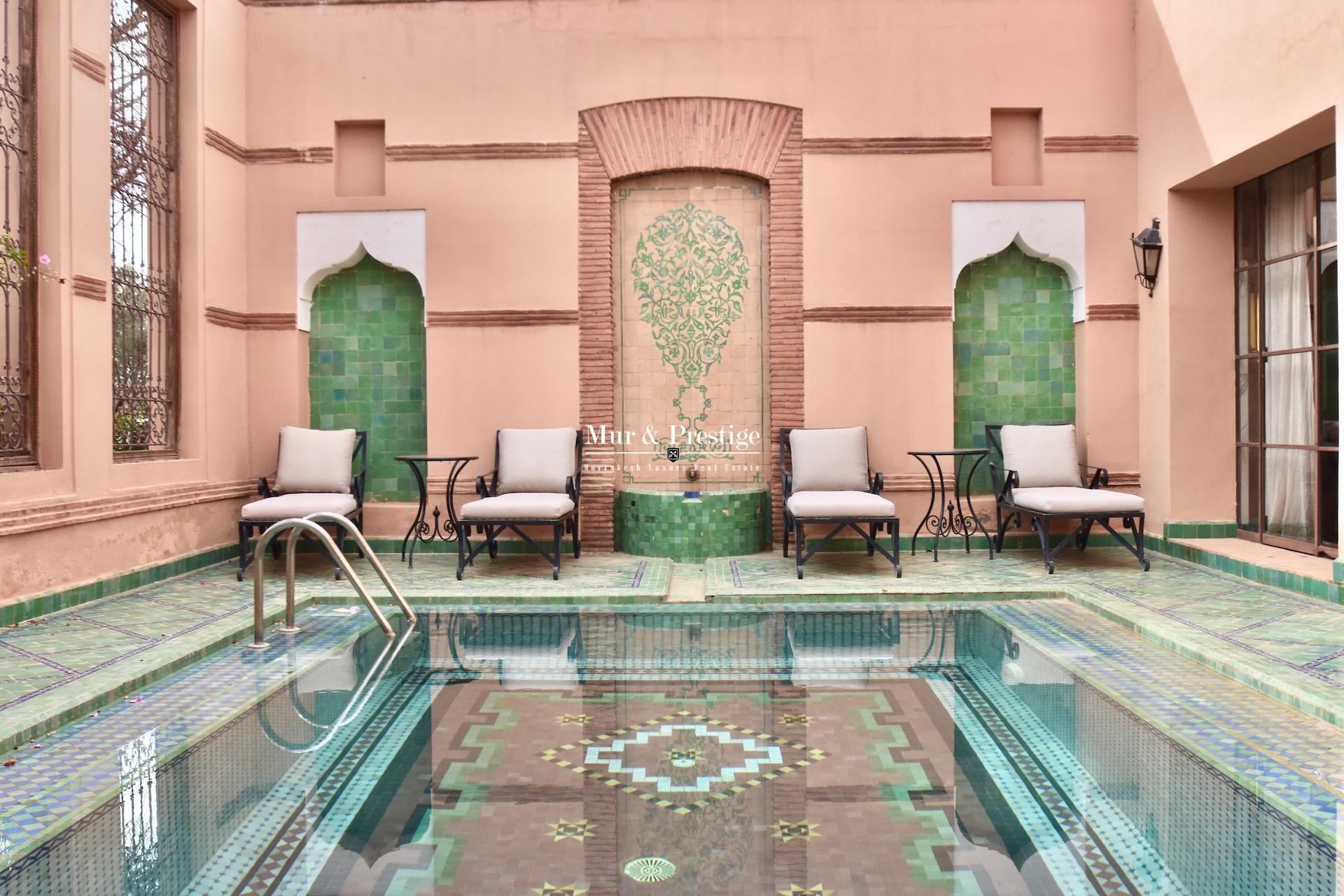 Maison en vente au golf de la Palmeraie à Marrakech