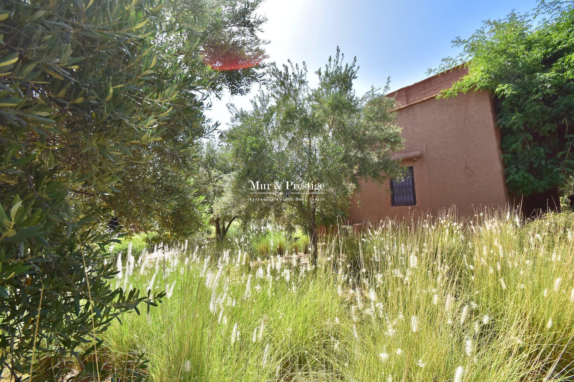 Ecolodge à vendre à Marrakech route de l'Ourika