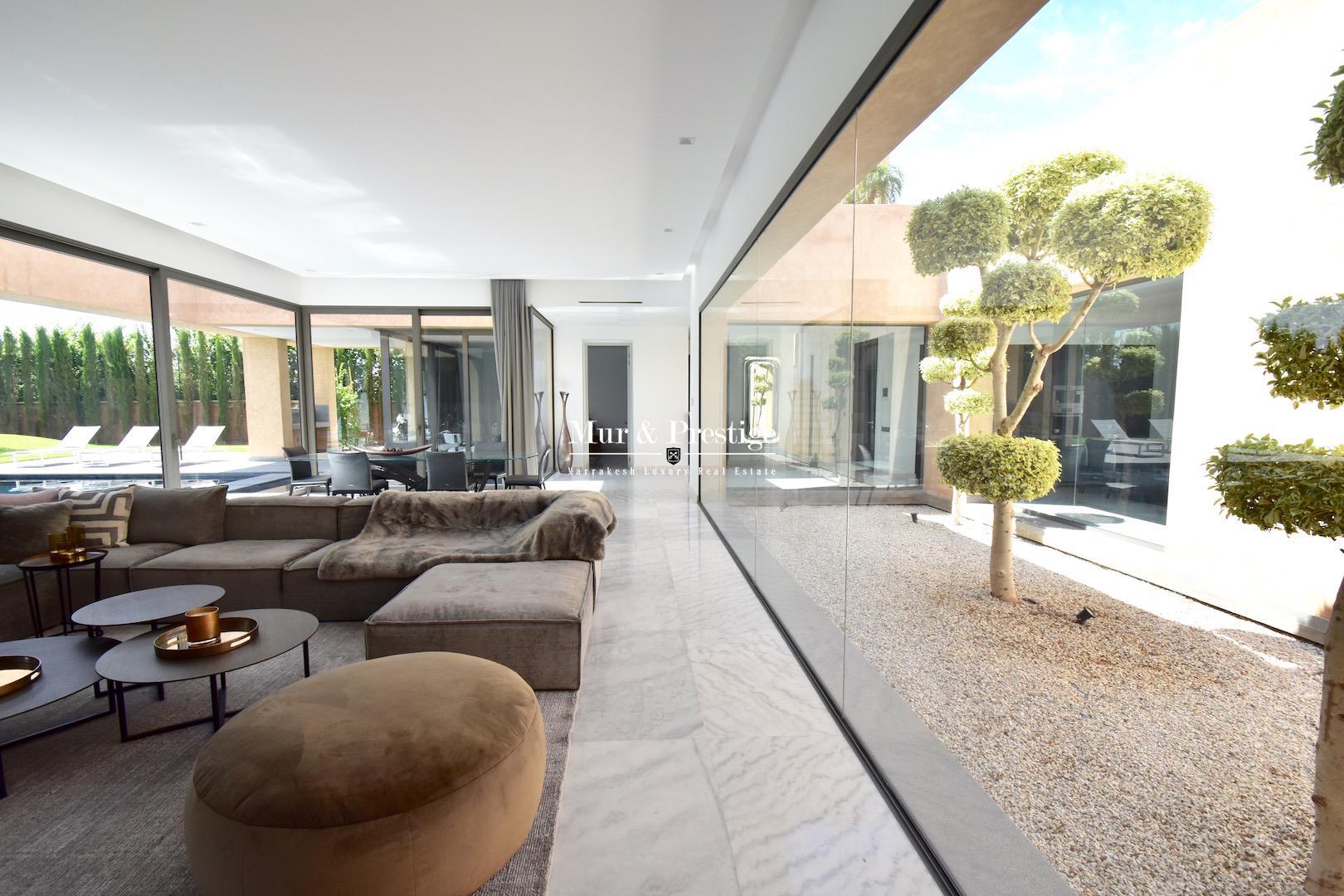 Villa ultra-moderne en vente à Marrakech - copie