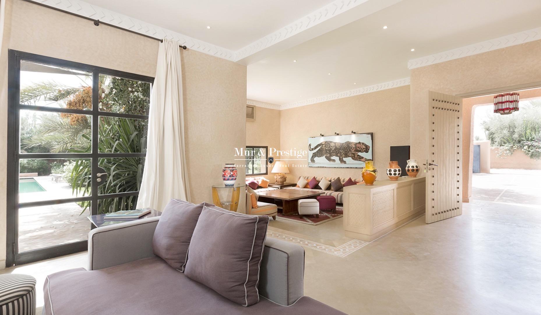 Magnifique villa en vente à Marrakech
