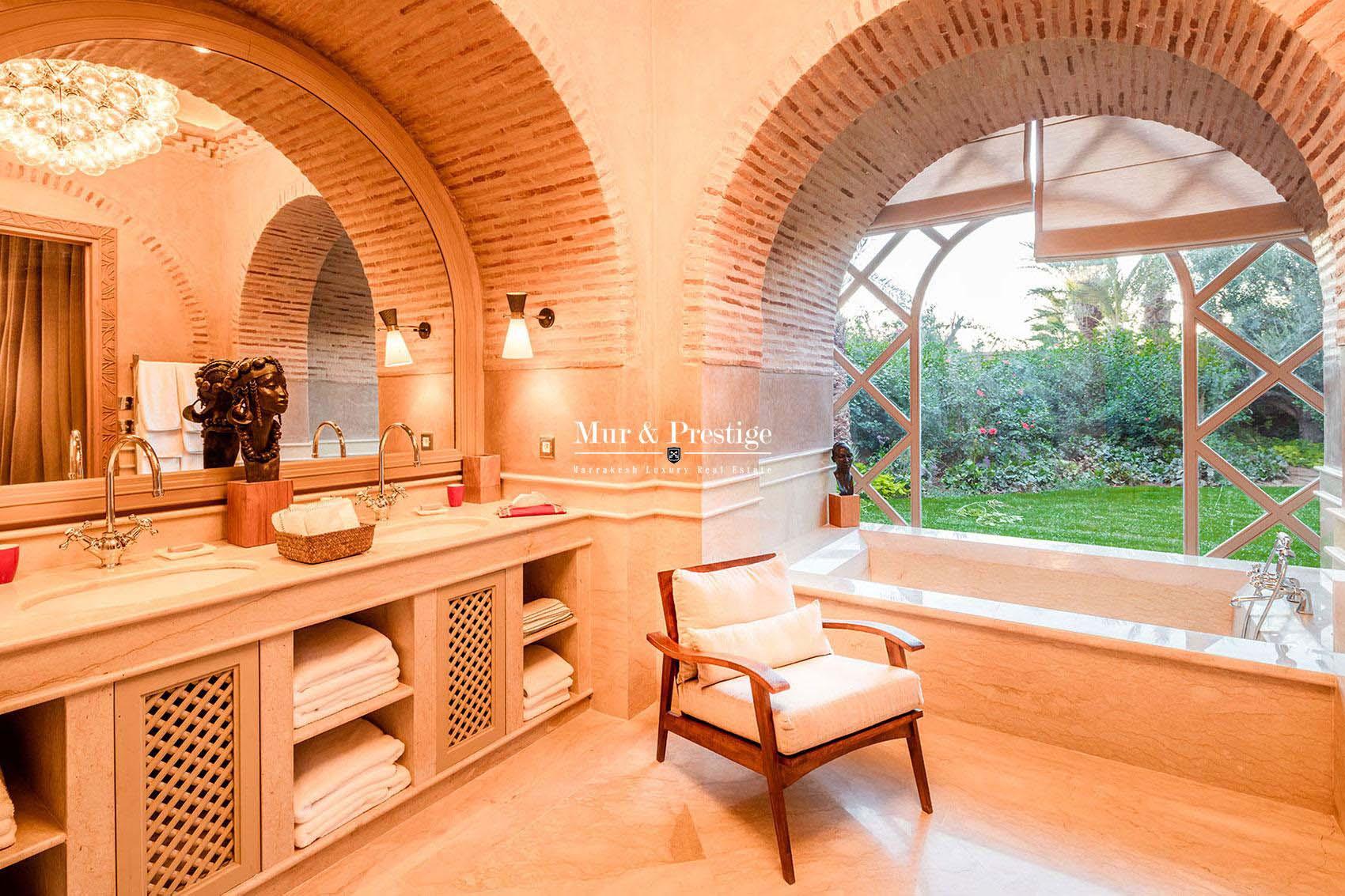 A vendre, maison exceptionnelle a Marrakech