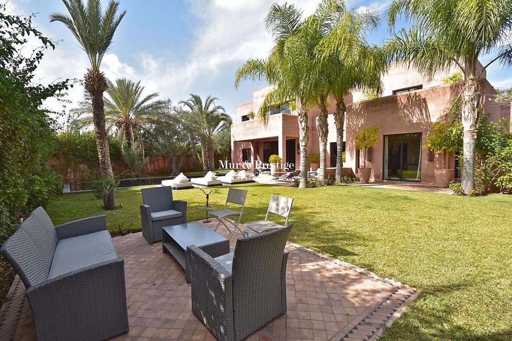 Achat d'une villa de luxe sur golf
