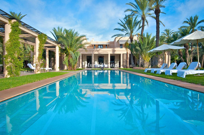 Villas la vente marrakech agence immobili re marrakech mur prestige for Achat villa de prestige