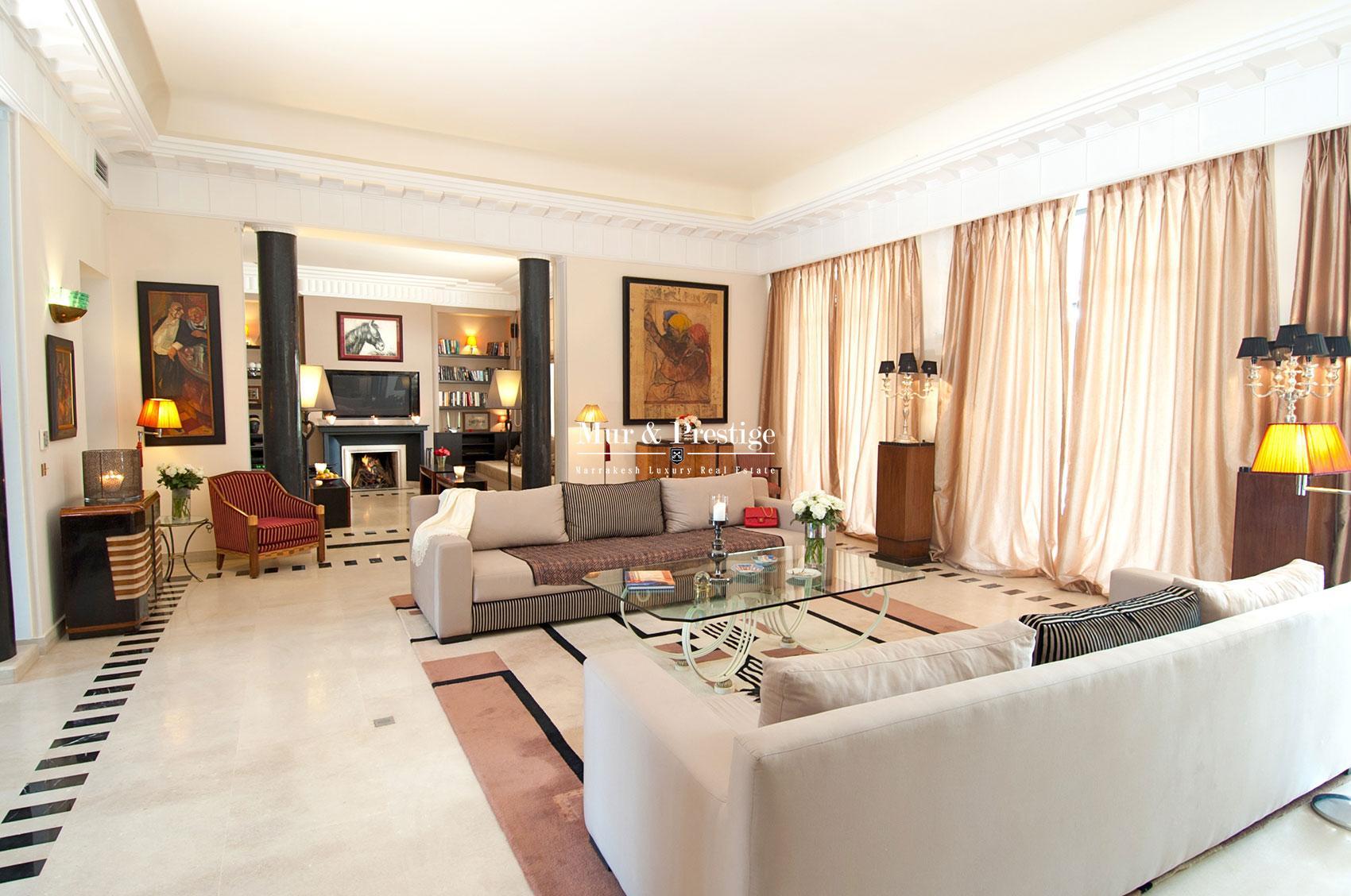 Achat de villa a Marrakech
