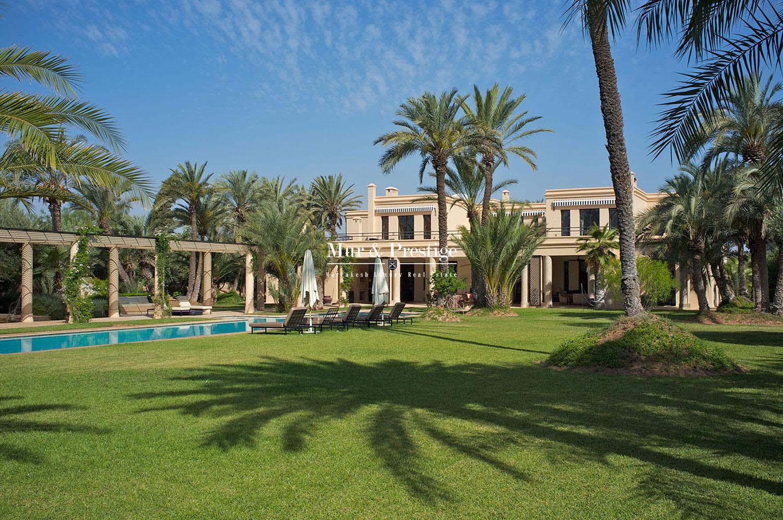 Achat de villa marrakech for Achat villa de prestige