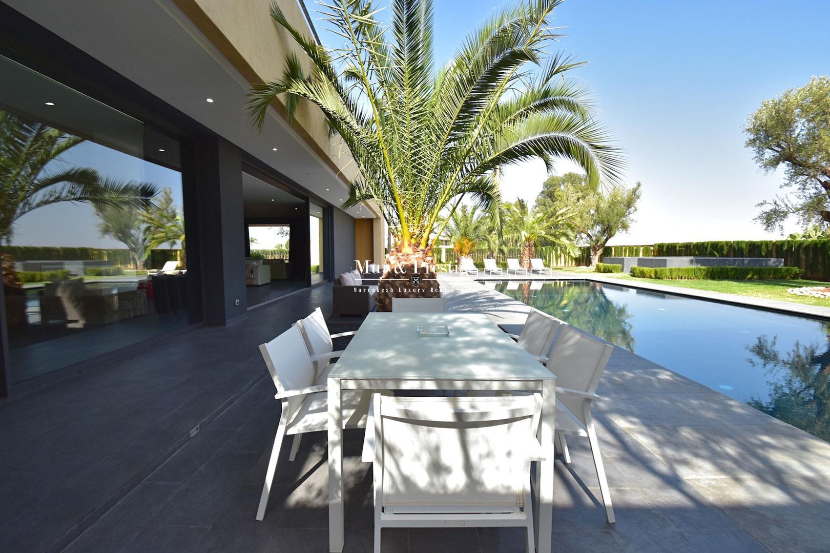 Achat d'une villa de luxe a Marrakech