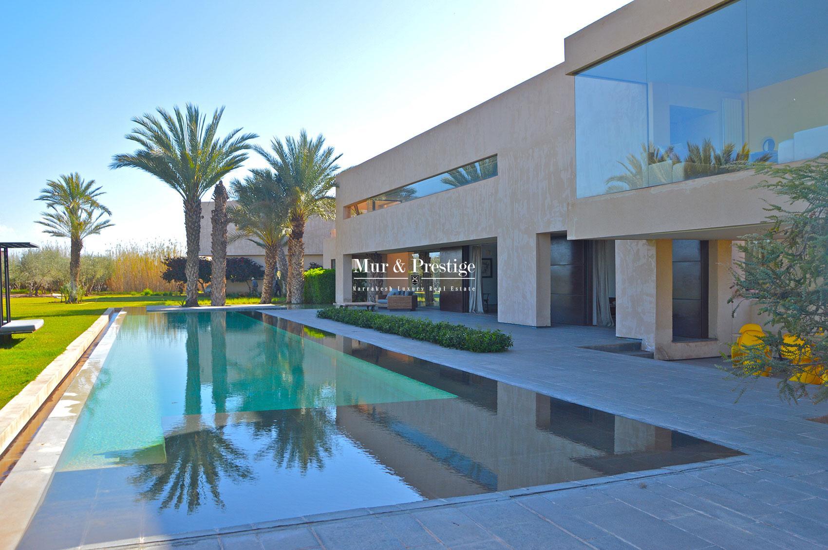 Achat villa de luxe marrakech for Achat villa de prestige