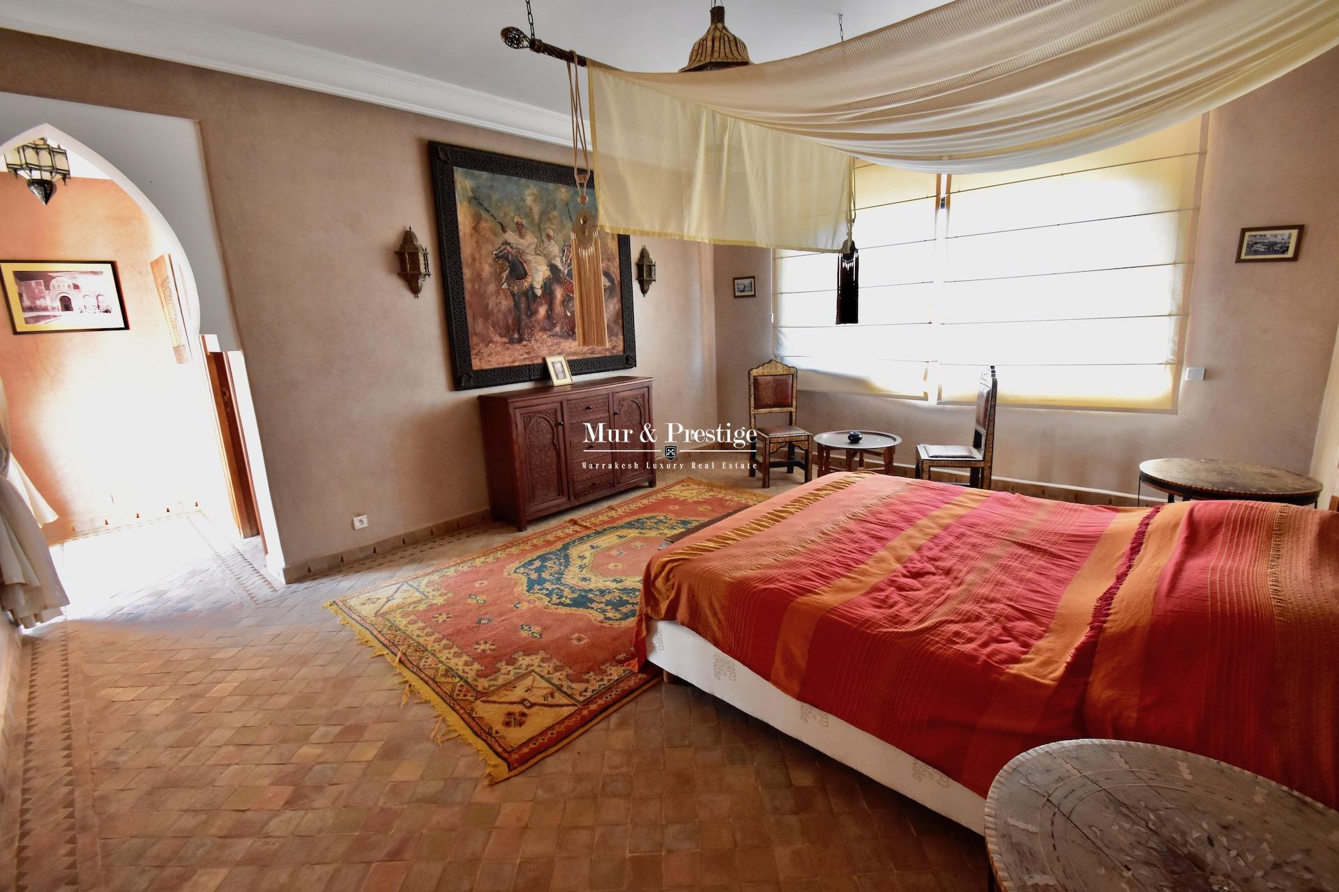 Villa à vendre à Marrakech – Agence Immobilière