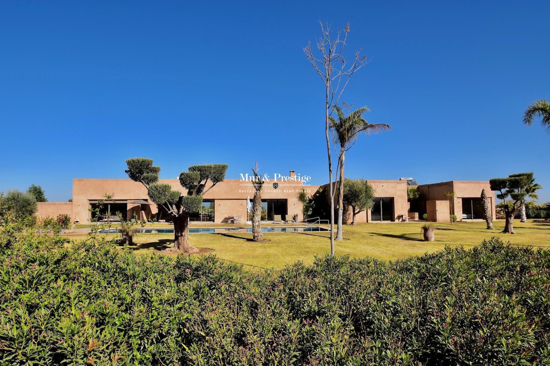 Maison moderne à vendre à Marrakech proche du Golf de Royal Palm