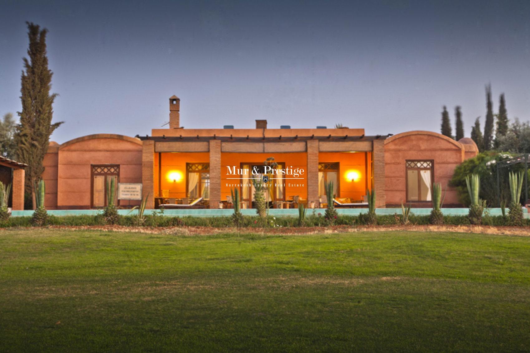 Acheter villa de luxe a Marrakech