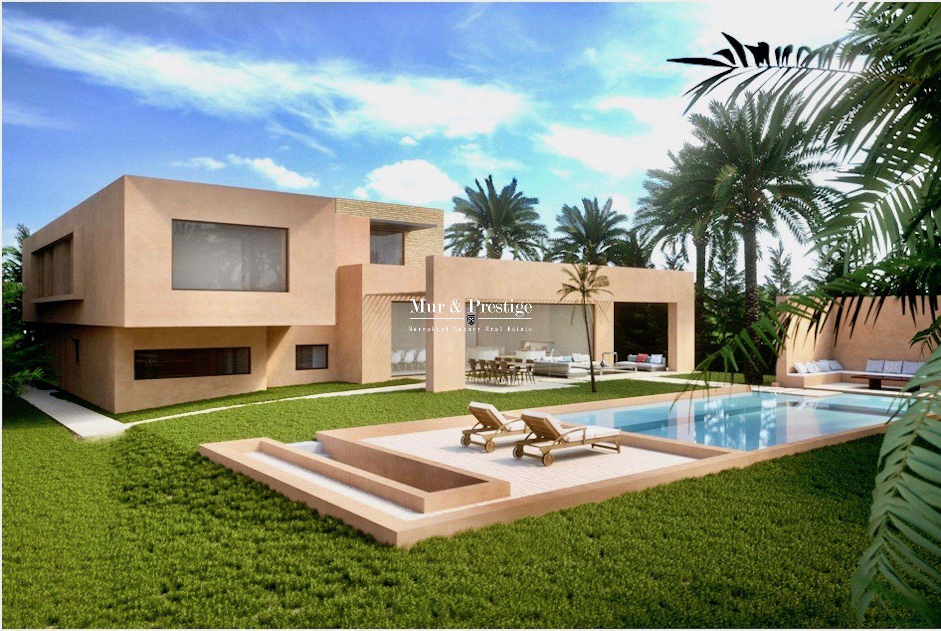 Maison neuve à vendre à Marrakech à la Palmeraie