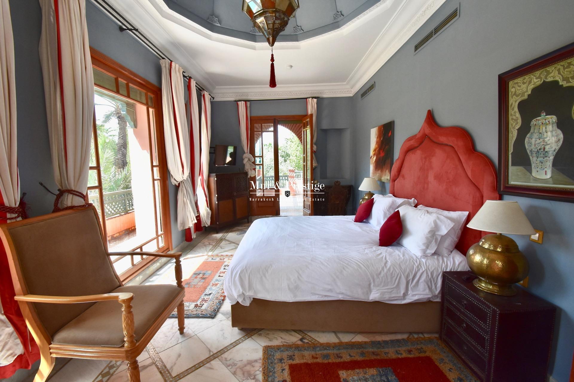 Maison de caractère à vendre au coeur de la Palmeraie Marrakech