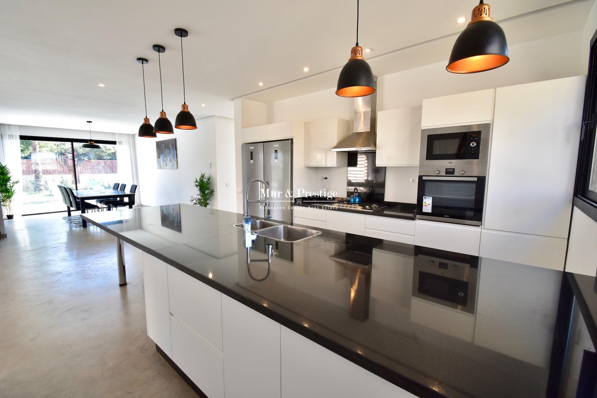 Villa moderne de plain-pied à vendre à Marrakech