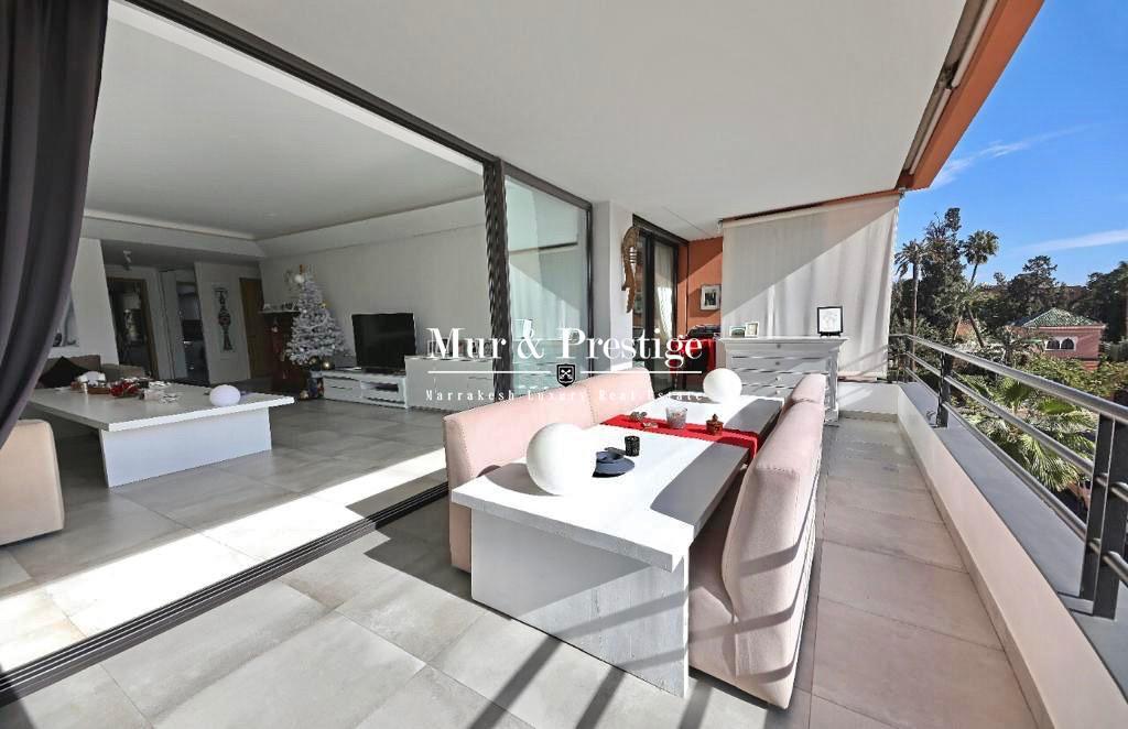 Appartement moderne avec vue sur le Jardin Majorelle