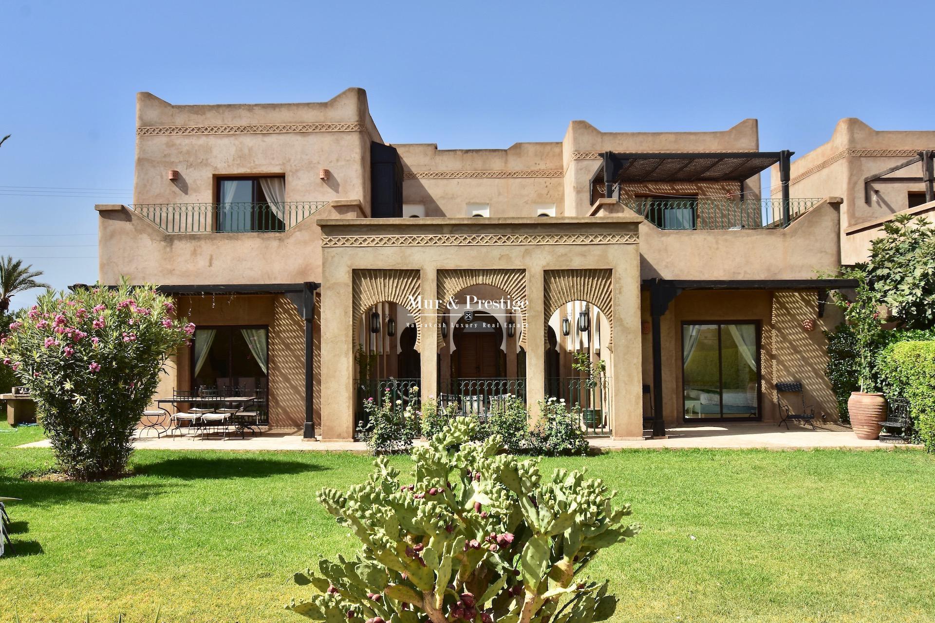 Maison à Vendre à Marrakech - Agence Immobilière