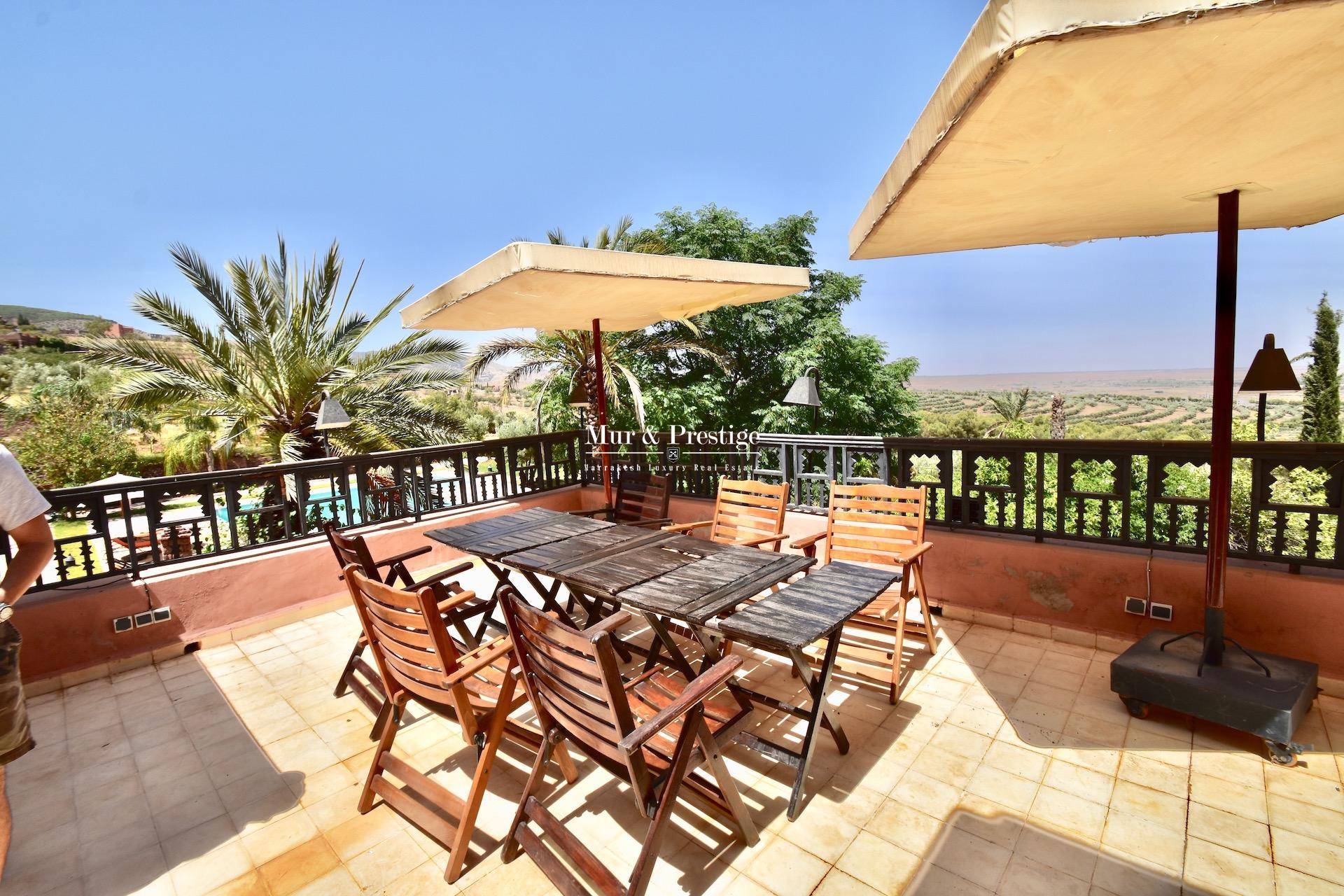 Agence Immobilière à Marrakech - Maison d'Hôtes à vendre
