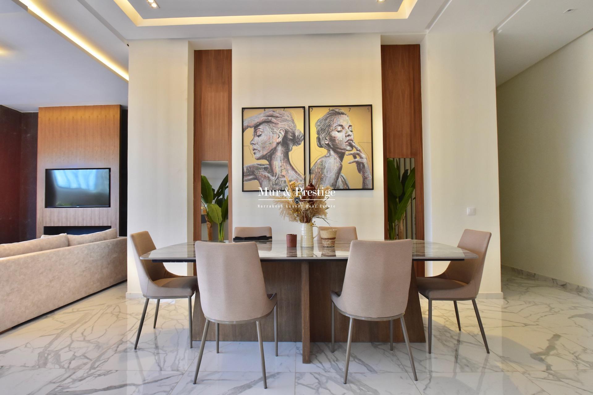Agence immobilière Marrakech – Maison moderne à vendre