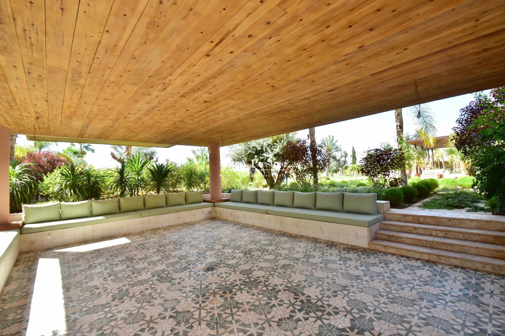 Maison de prestige à vendre à la Palmeraie Marrakech