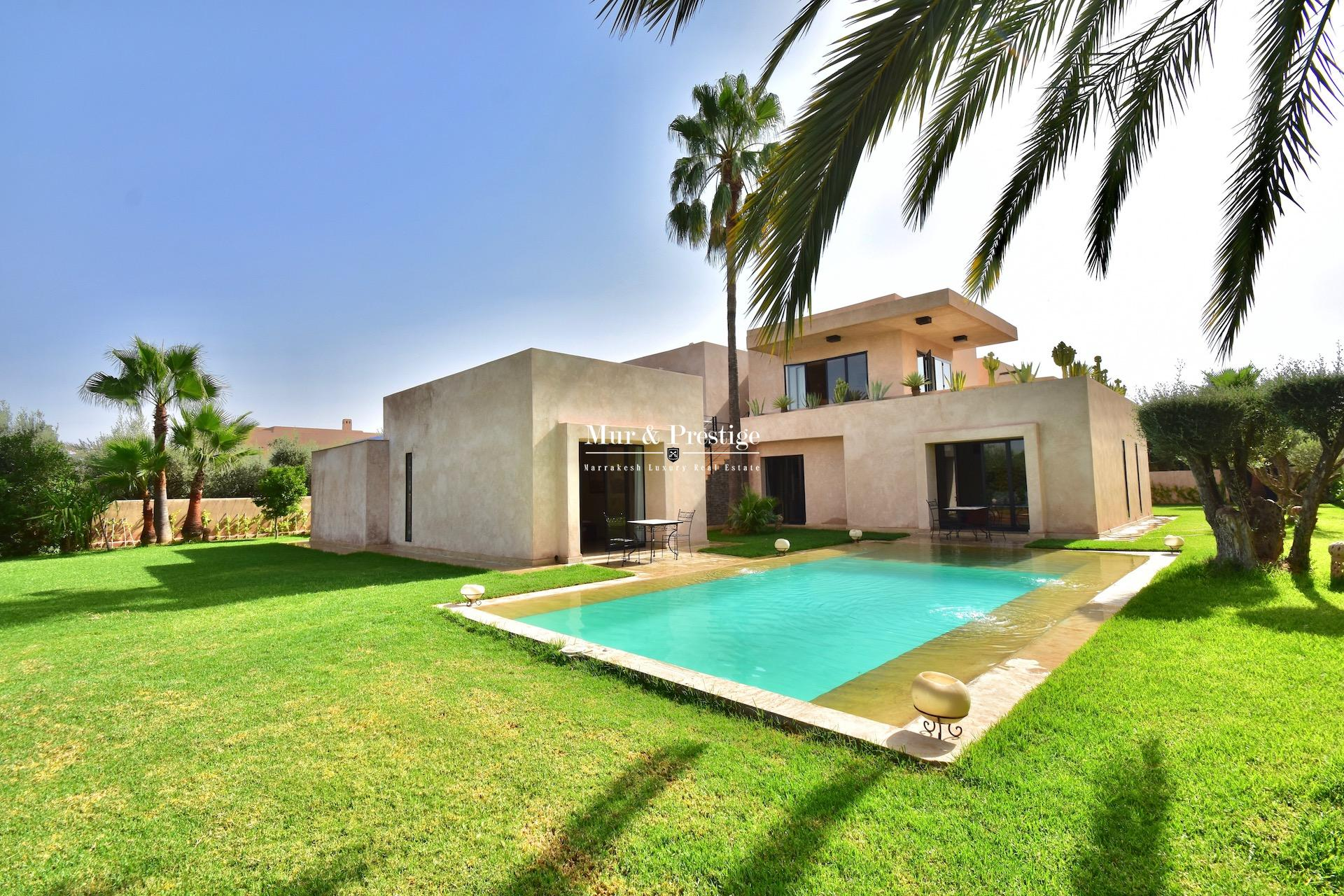 Maison moderne en vente au Golf Amelkis à Marrakech