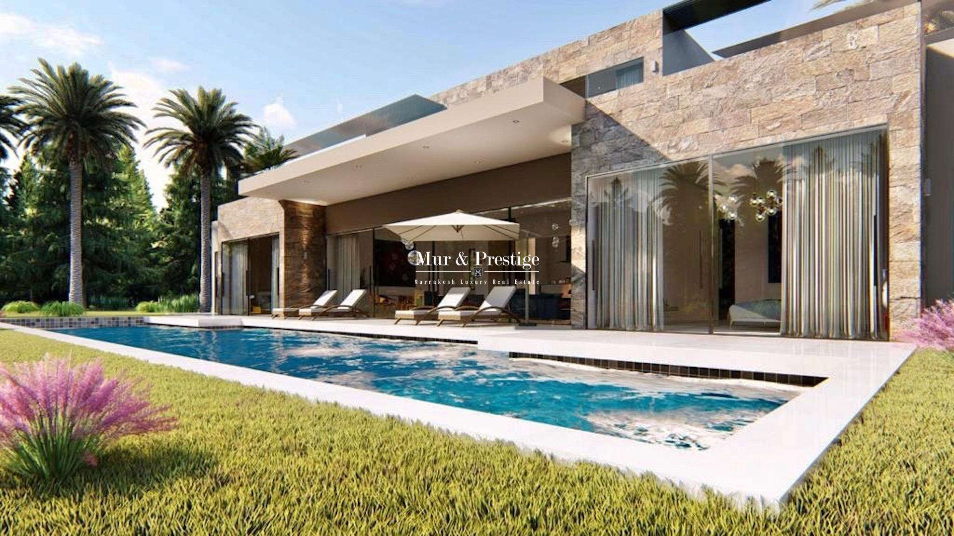 Agence immobilière Marrakech : Maison moderne à vendre sur la route de l'Ourika