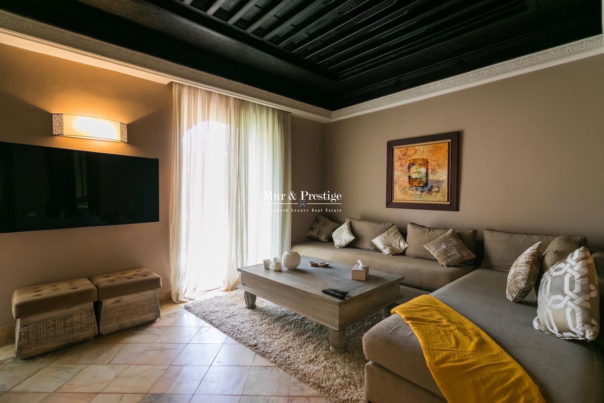 Appartement à vendre circuit palmeraie Marrakech
