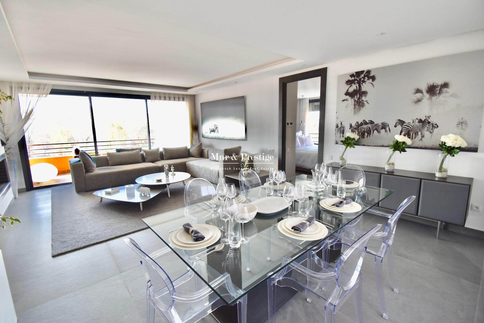 Agence immobilière Marrakech- appartement en vente de deux chambres