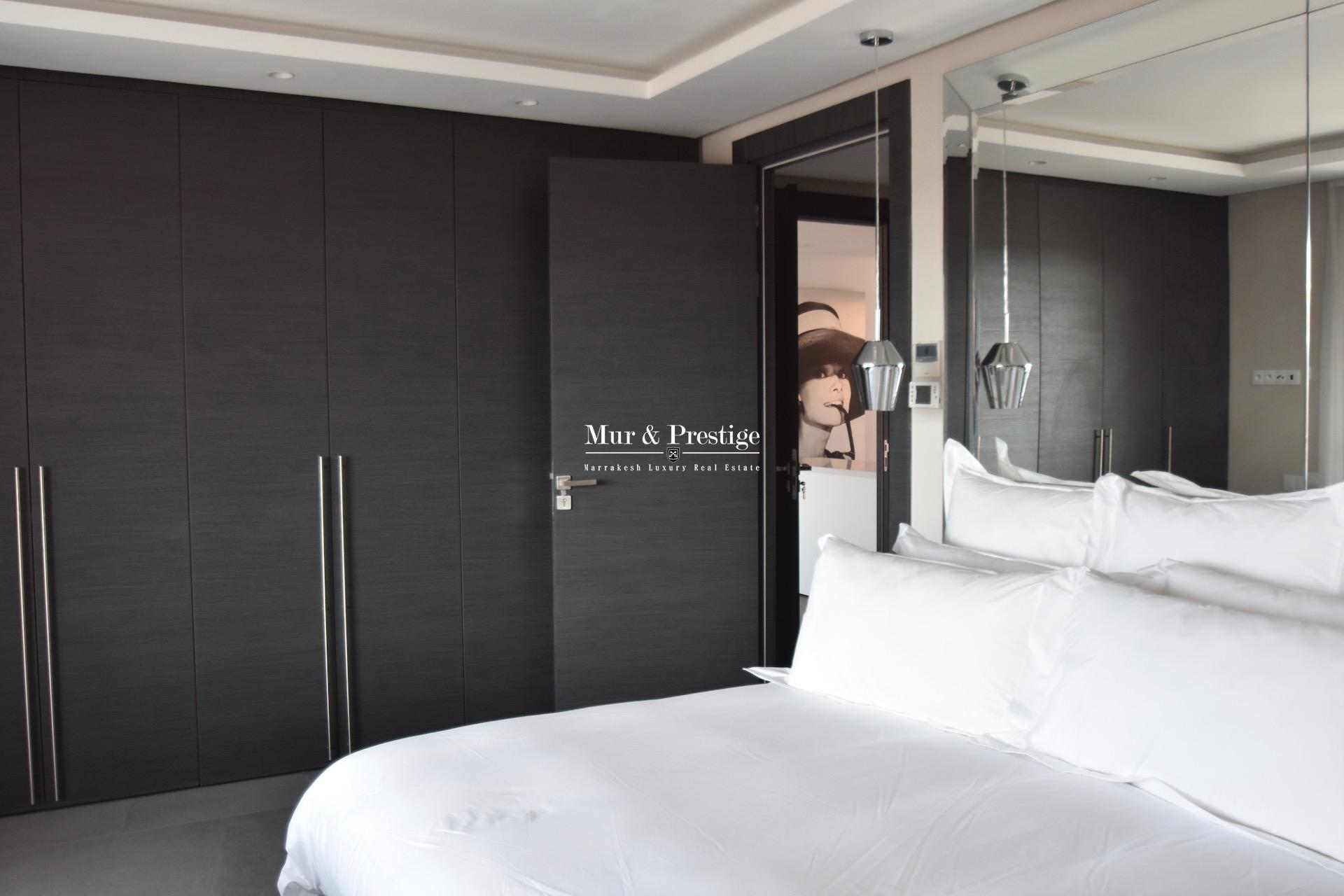 Agence immobilière Marrakech- appartement moderne à vendre