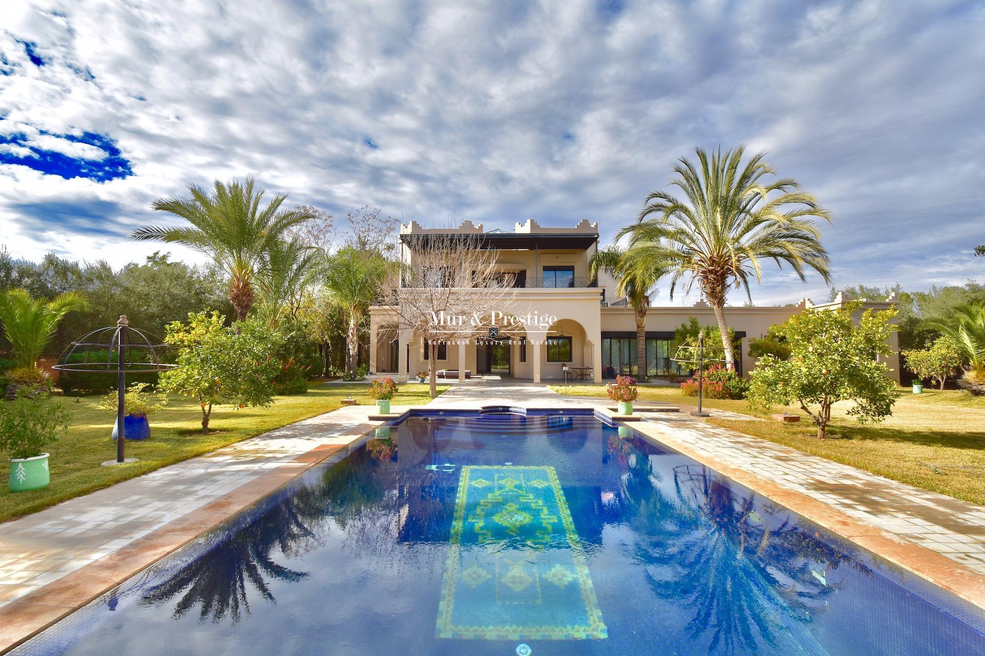 Villa en vente proche de l'école américaine à Marrakech