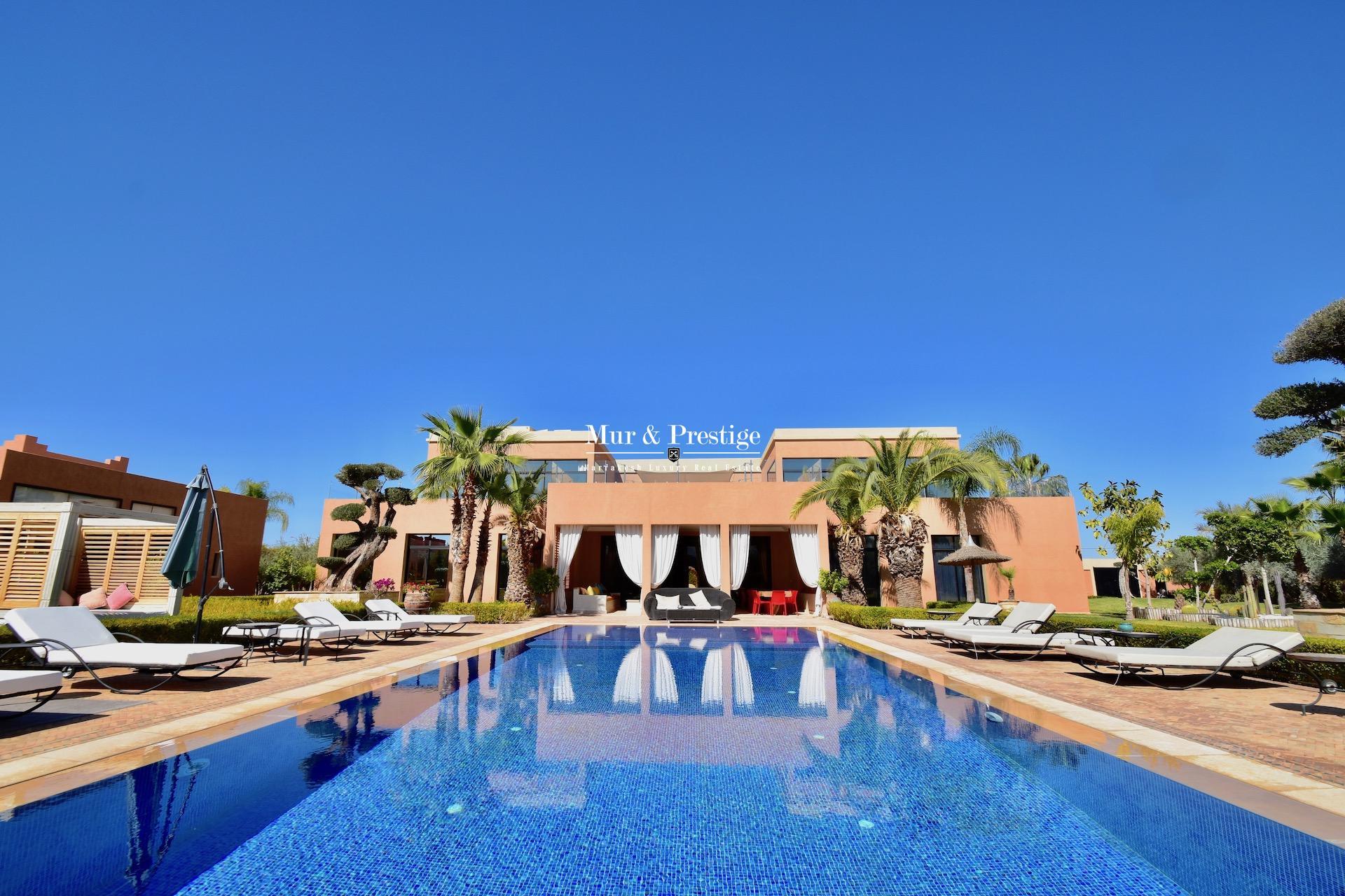 Villa à vendre à Marrakech idéale pour maison d'hôtes