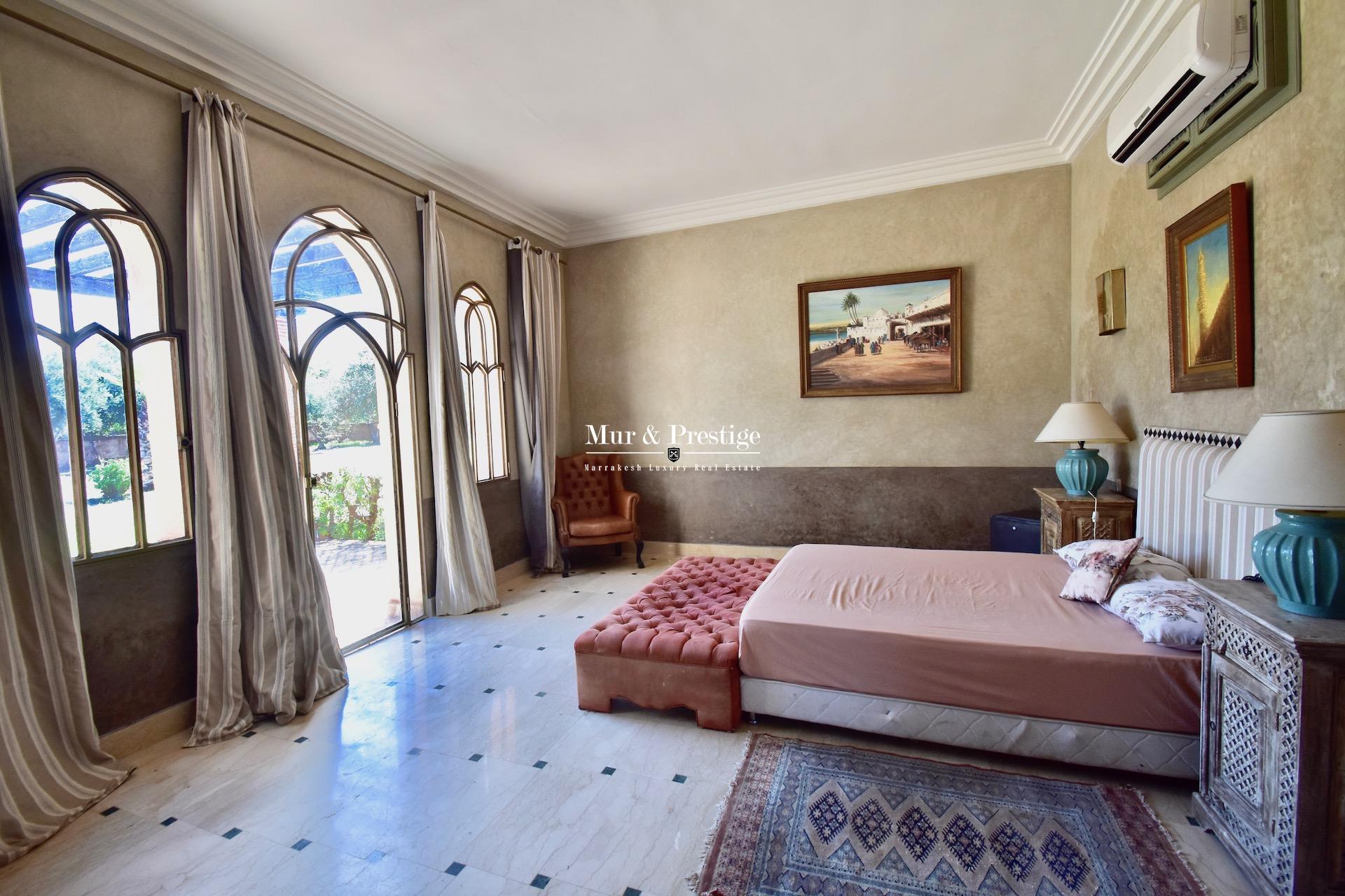 Agence immobilière Marrakech : Maison de charme à vendre