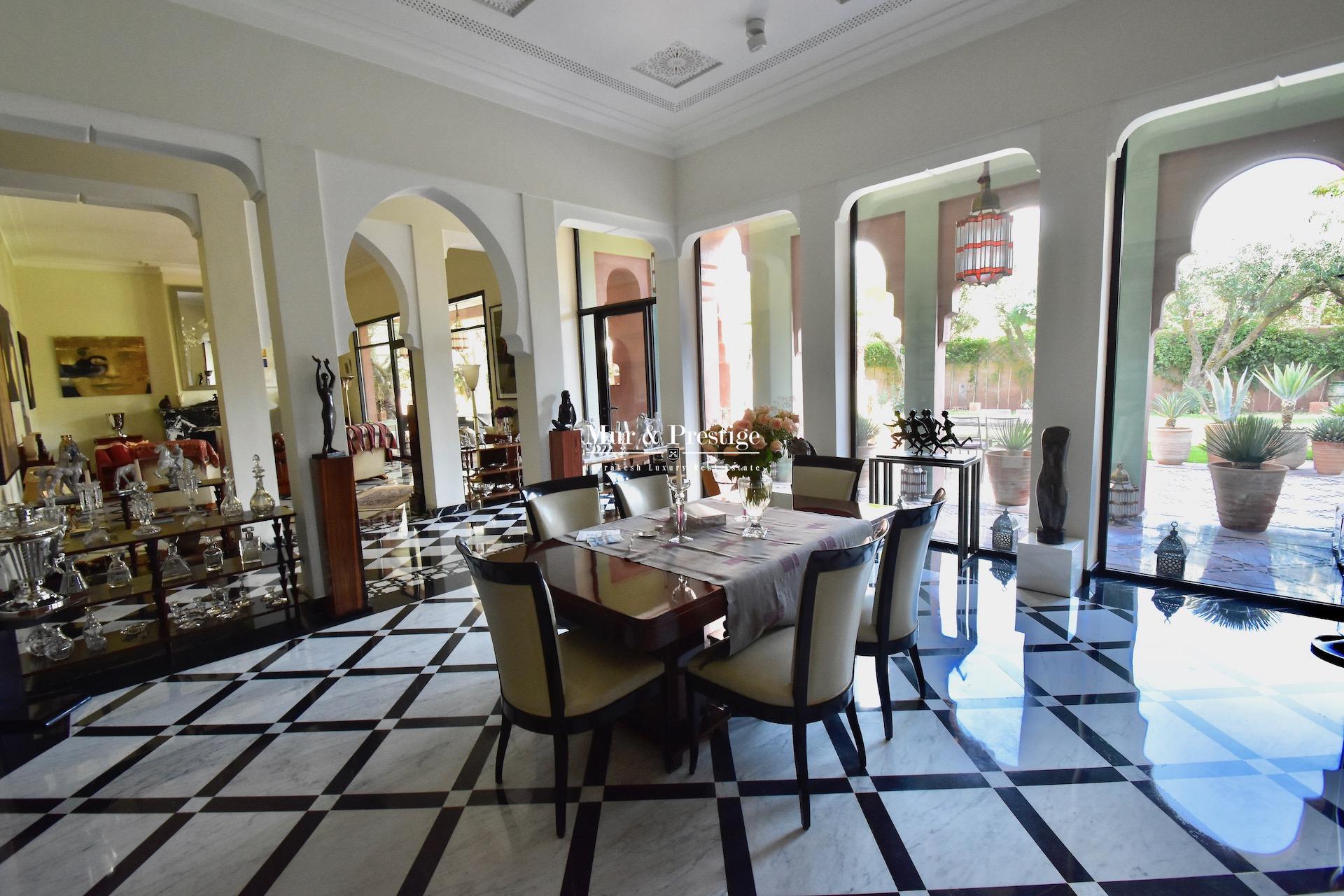 Maison de Luxe à Vendre en centre-ville à Marrakech