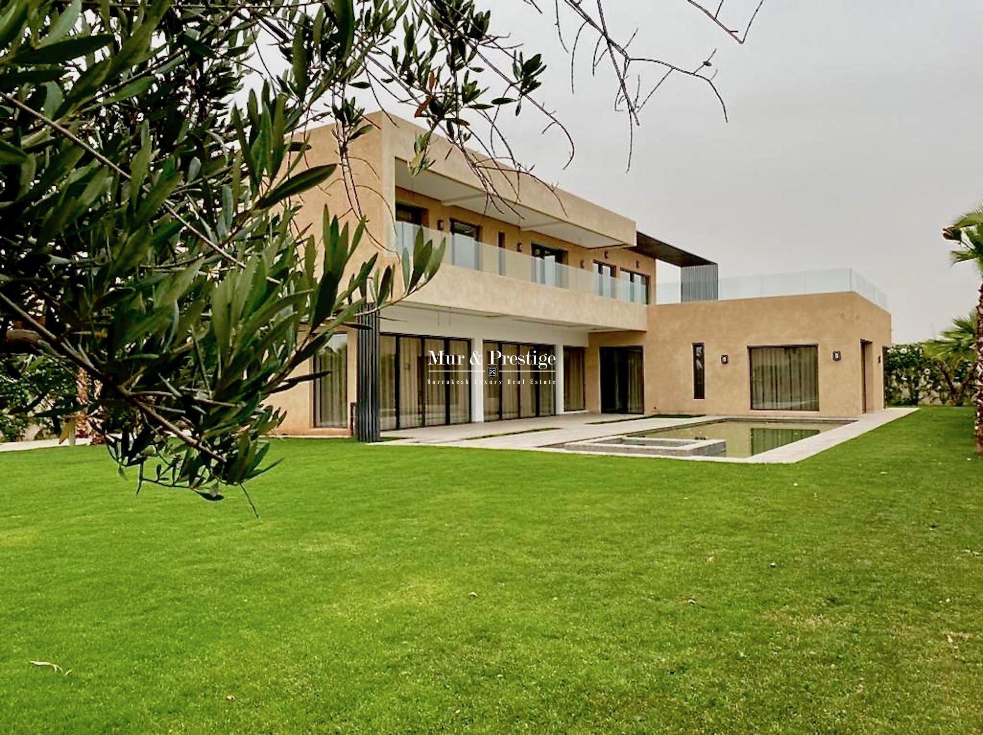 Agence Immobilière à Marrakech - Vente maison moderne