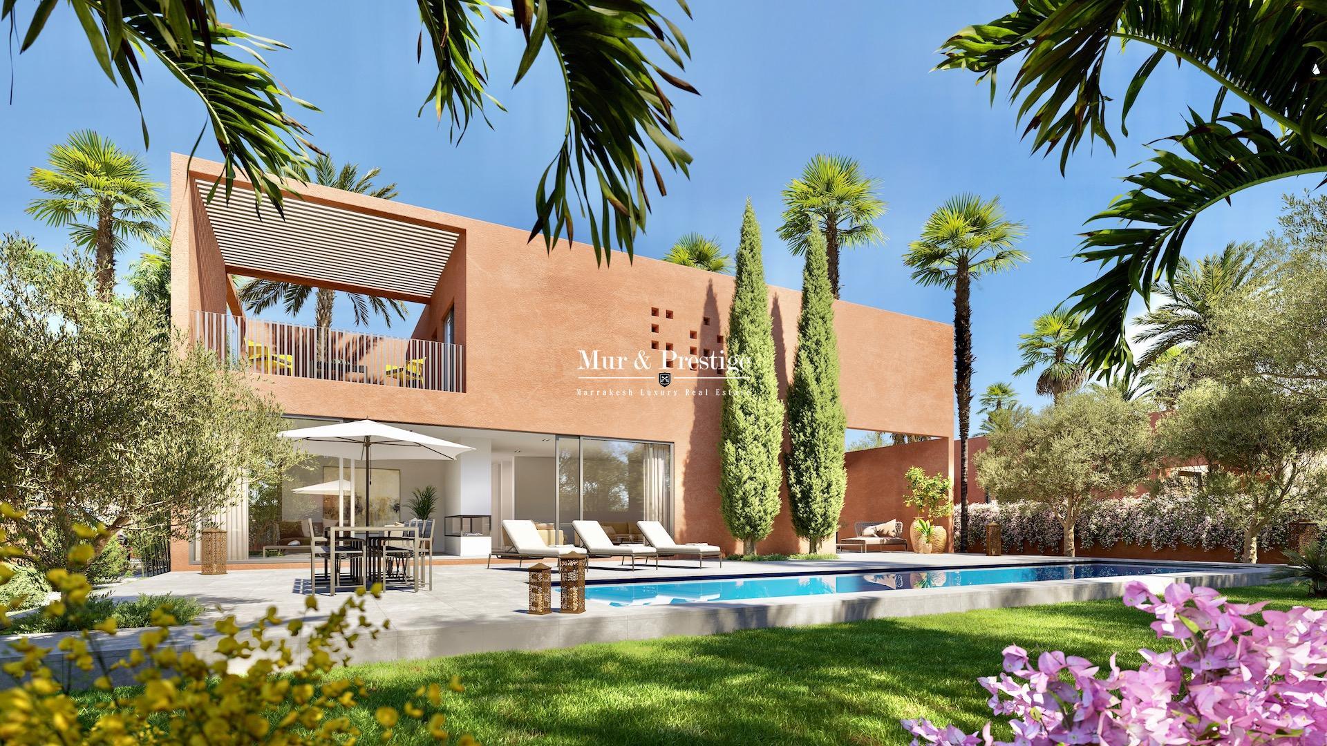 Agence immobilière Marrakech : Maison neuve à vendre sur la route de l'Ourika