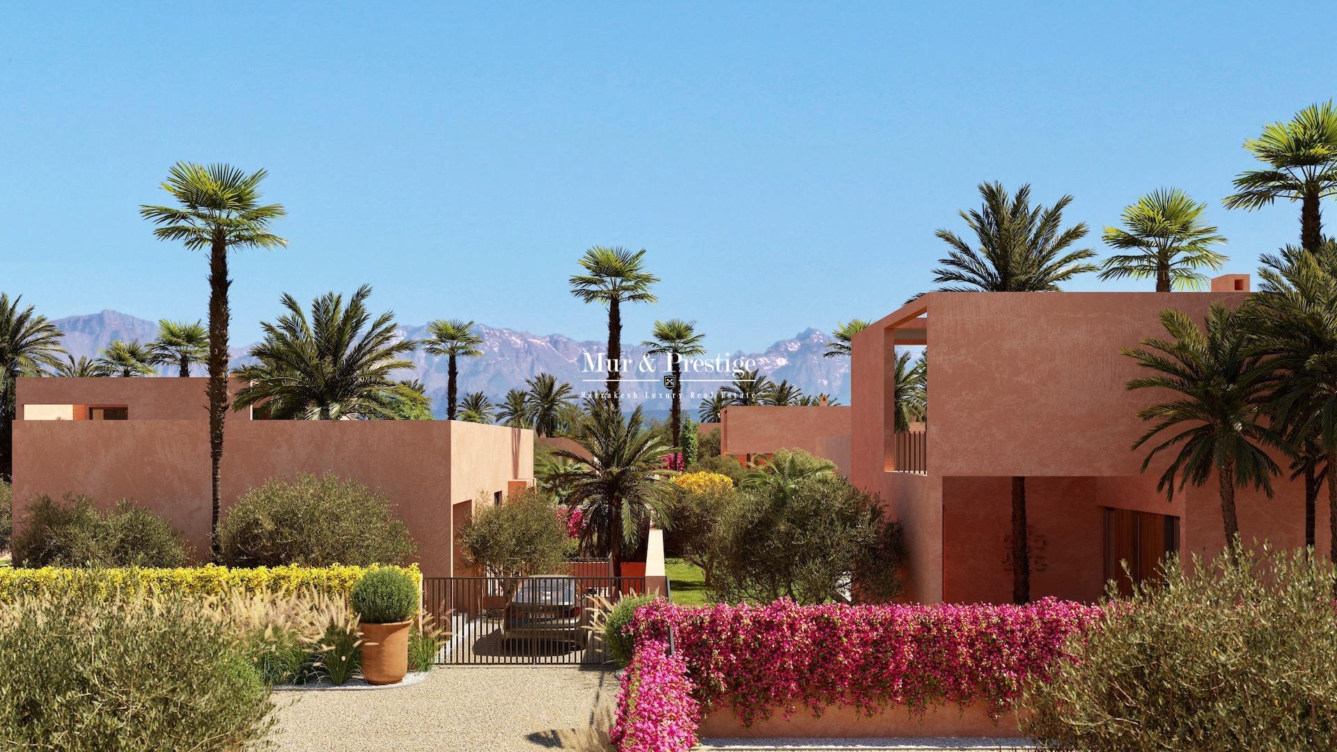 Agence immobilière Marrakech - Maison de plain pied à vendre