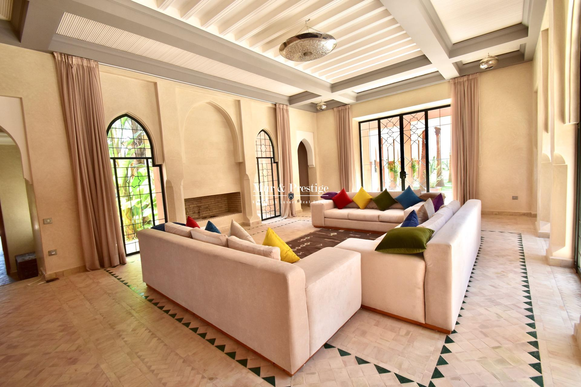 Maison de caract�re � vendre � Marrakech