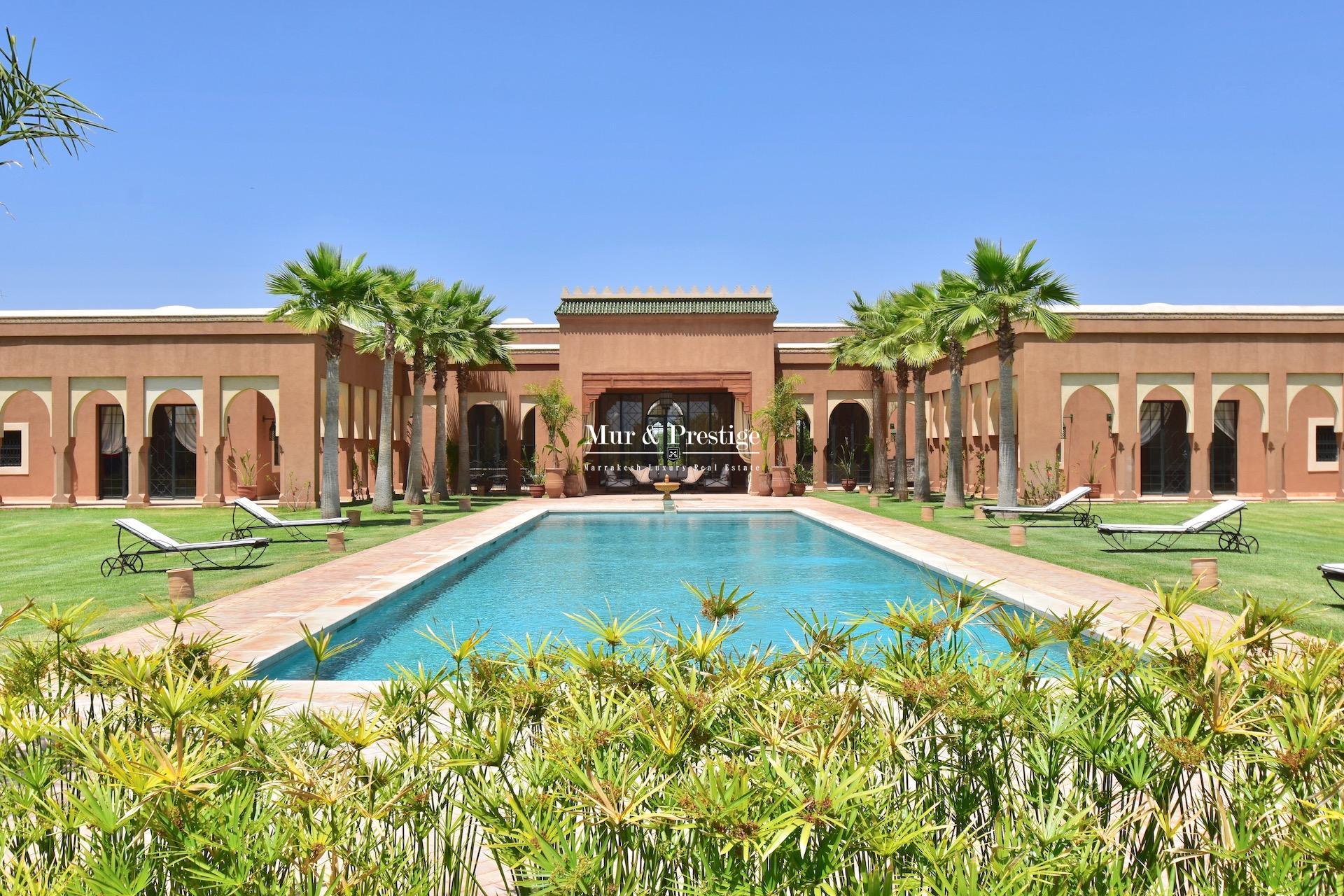 Villas à la vente à Marrakech,agence immobilière à Marrakech | Mur ...