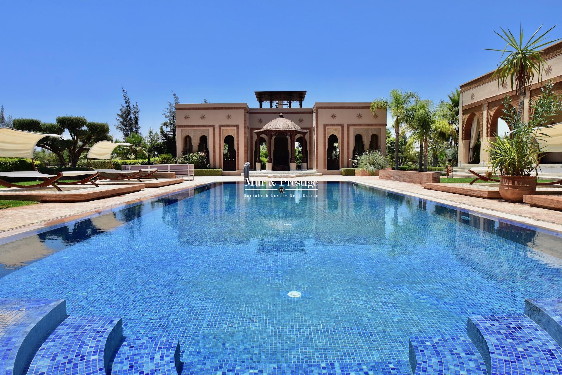 Maison de maître à vendre à Marrakech